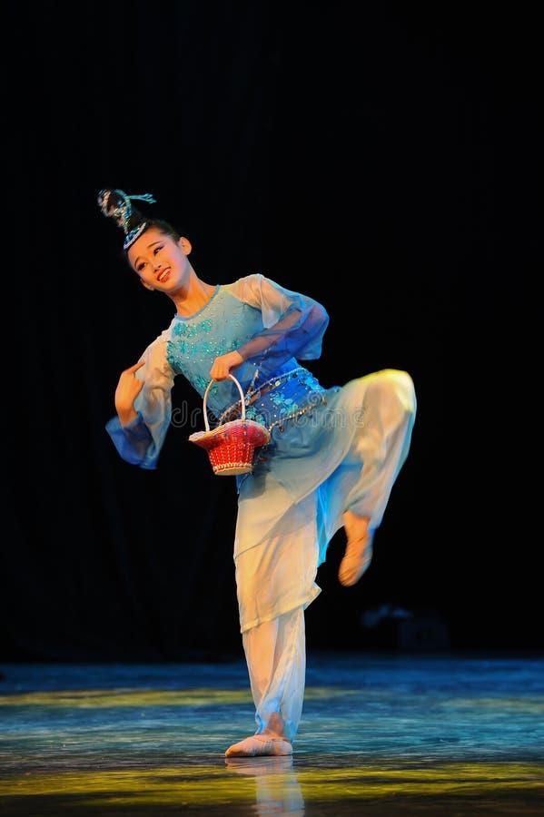 Бамбуковый танец корзины стоковое изображение rf