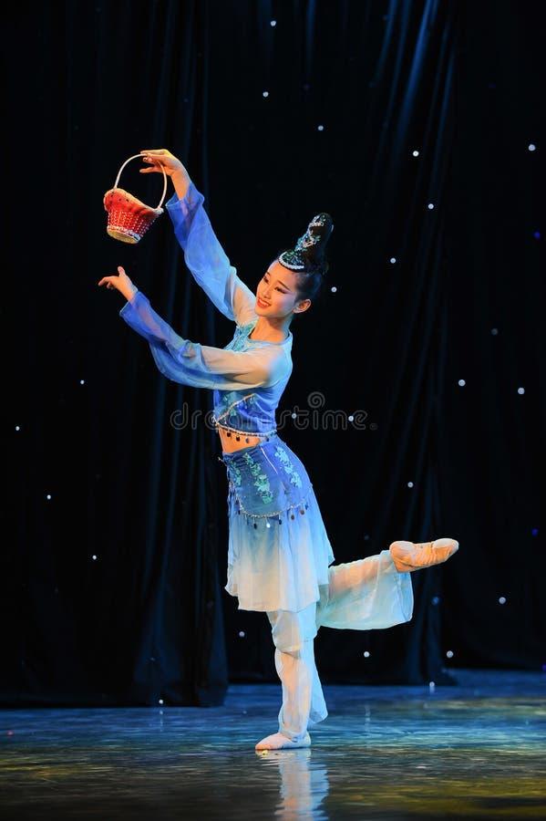 Бамбуковый танец корзины стоковое фото rf