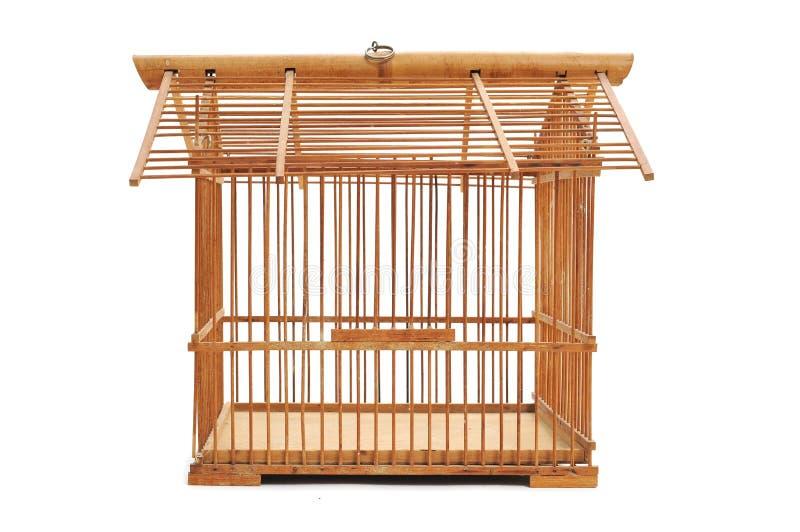 Бамбуковый birdcage стоковые изображения rf