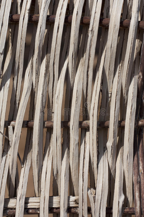 Бамбук вставляет деревянное фото загородки стоковое фото rf