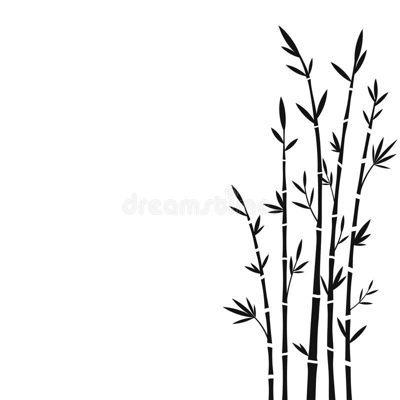 бамбук иллюстрация вектора