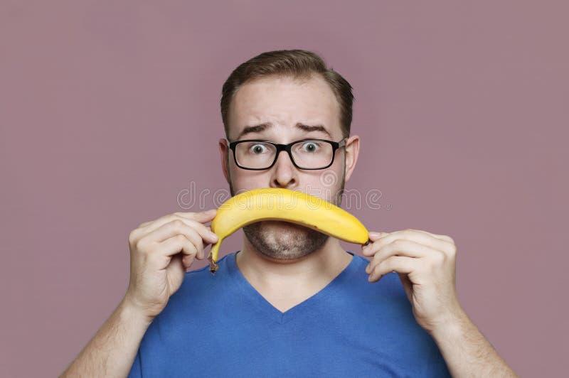 бананы ненавидят I стоковое изображение rf