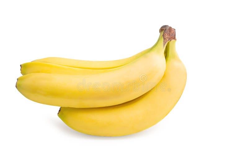 бананы предпосылки белые стоковые фото