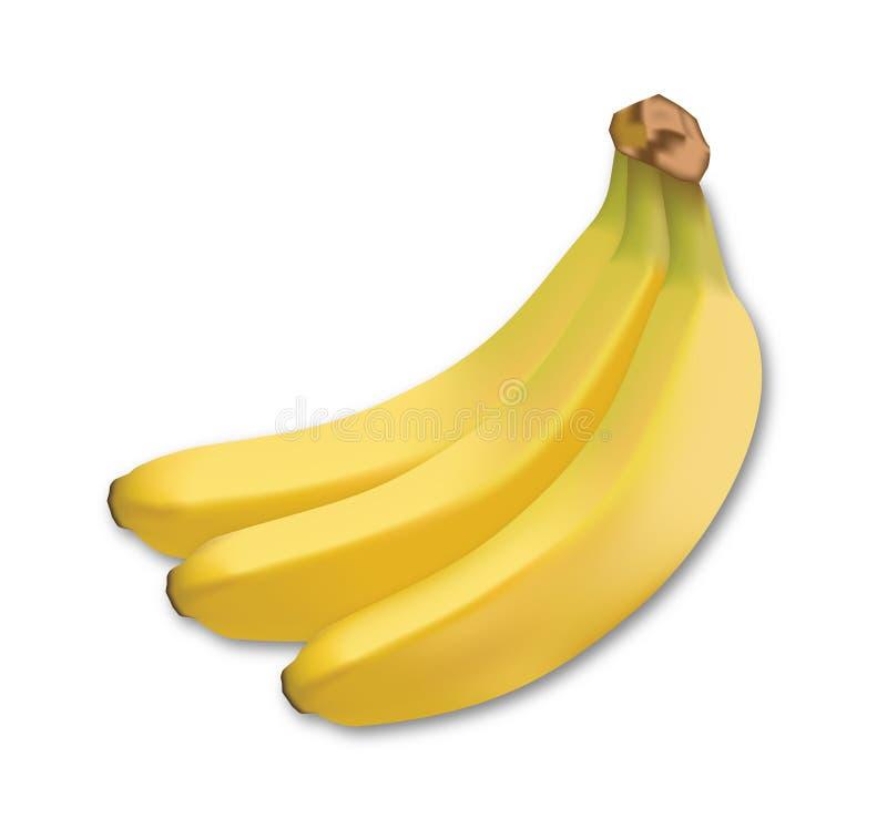 Бананы 3 результата стоковые фотографии rf