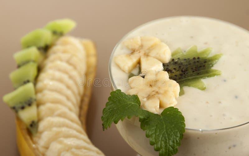 Банан Smoothie стоковые изображения