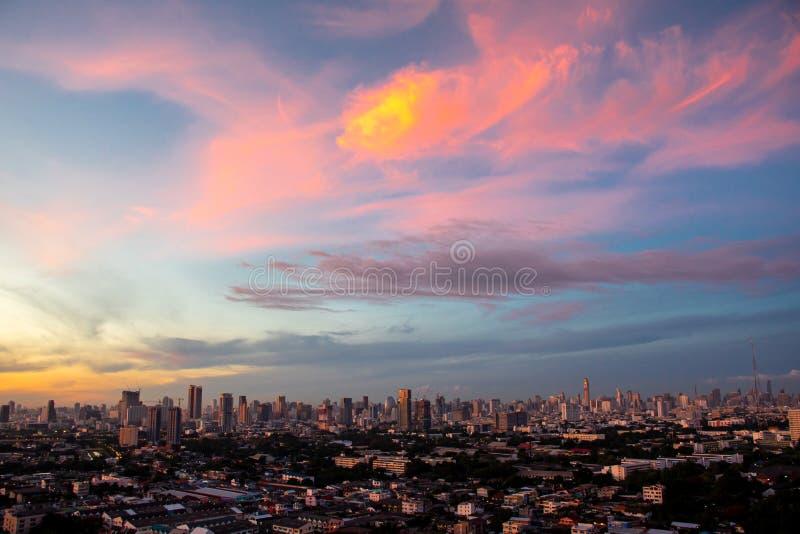 Бангкокский пейзаж стоковое изображение rf
