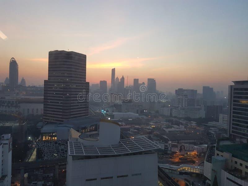 Бангкок в утре стоковое изображение