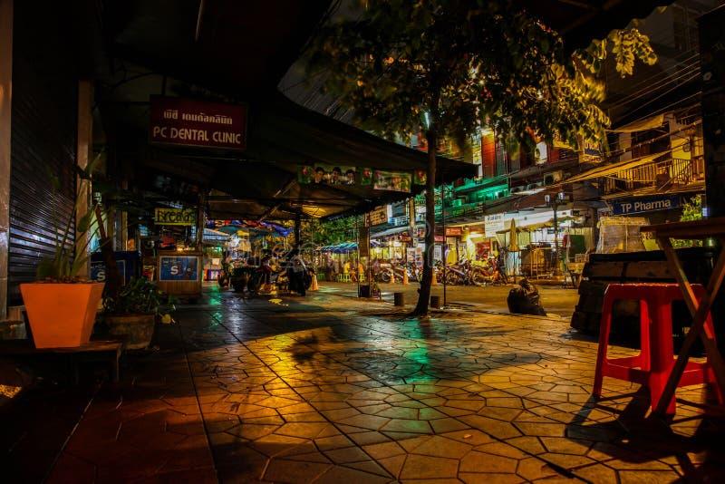 Бангкок на ноче, 2013 стоковое фото
