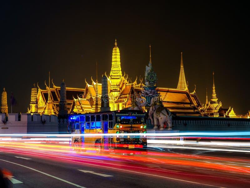 БАНГКОК - 18-ое октября самые известные ориентир ориентиры города t Бангкока стоковое изображение