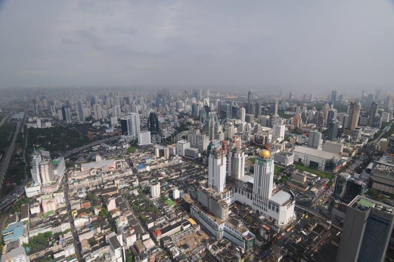Бангкок - панорама глаза птицы стоковые фотографии rf