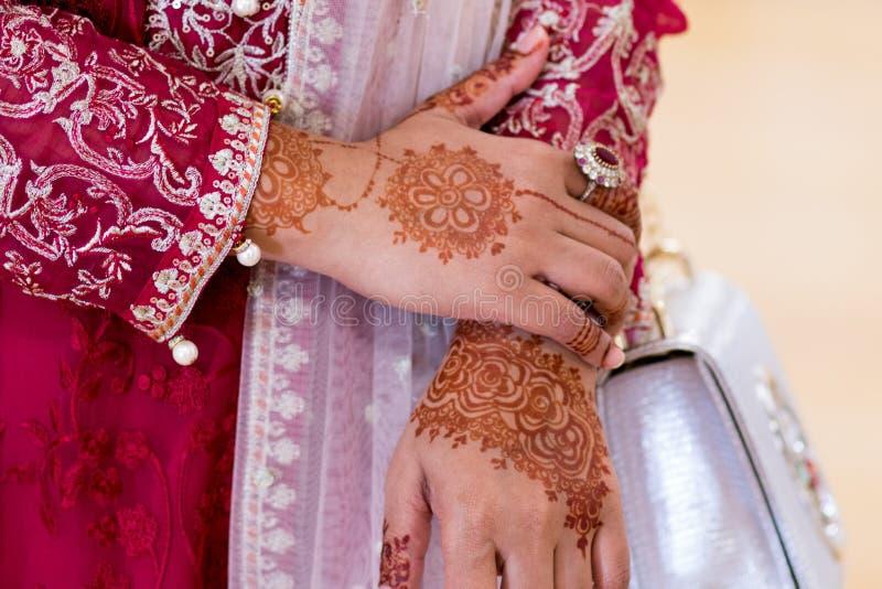 Бангладешская мусульманская свадьба стоковые изображения