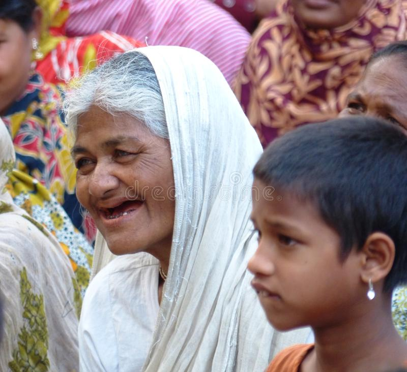 Бангладешская женщина стоковое изображение