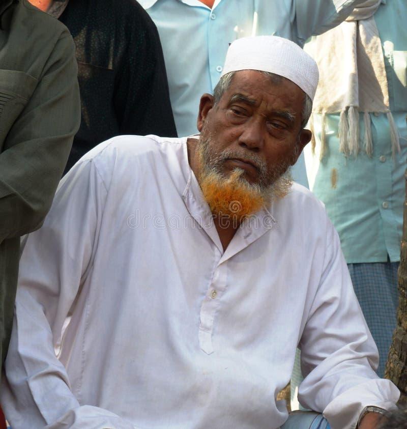 Бангладешский человек стоковые изображения rf
