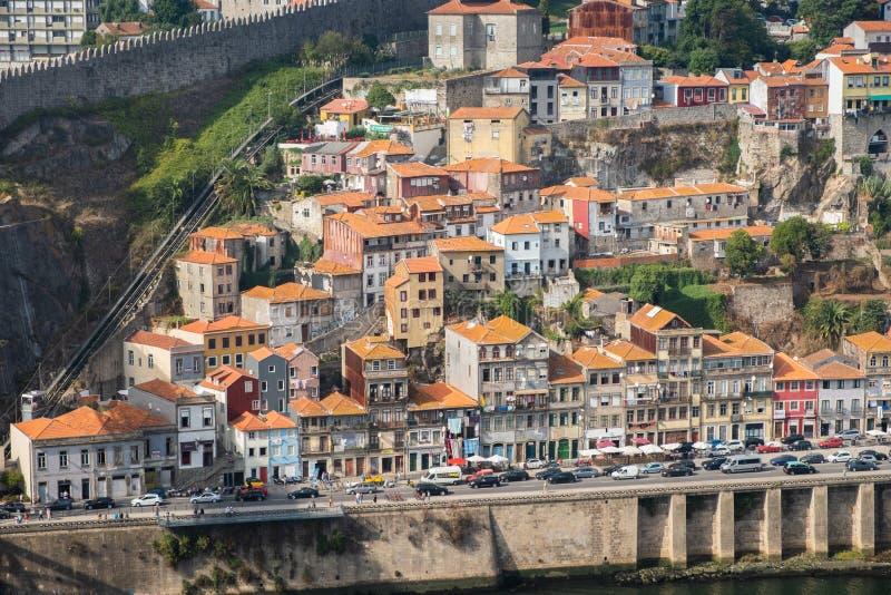 Банки реки Дуэро Invicta Порту стоковые фотографии rf