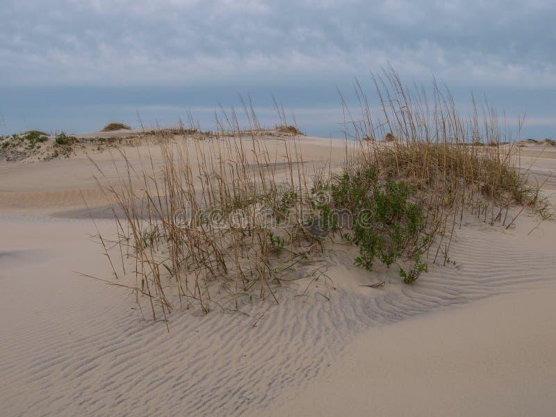 Банки Северной Каролины дюн острова Гаттерас наружные стоковые фото
