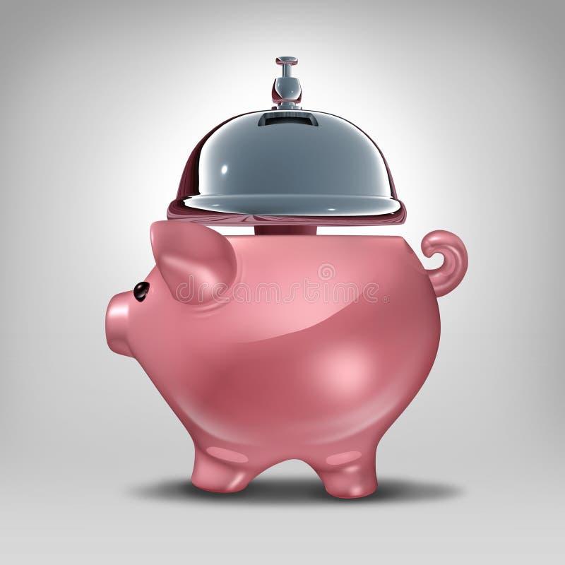 Банковские услуги иллюстрация вектора