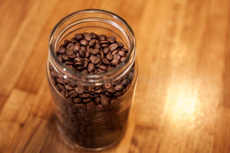 Банкы с кофе стоковое изображение