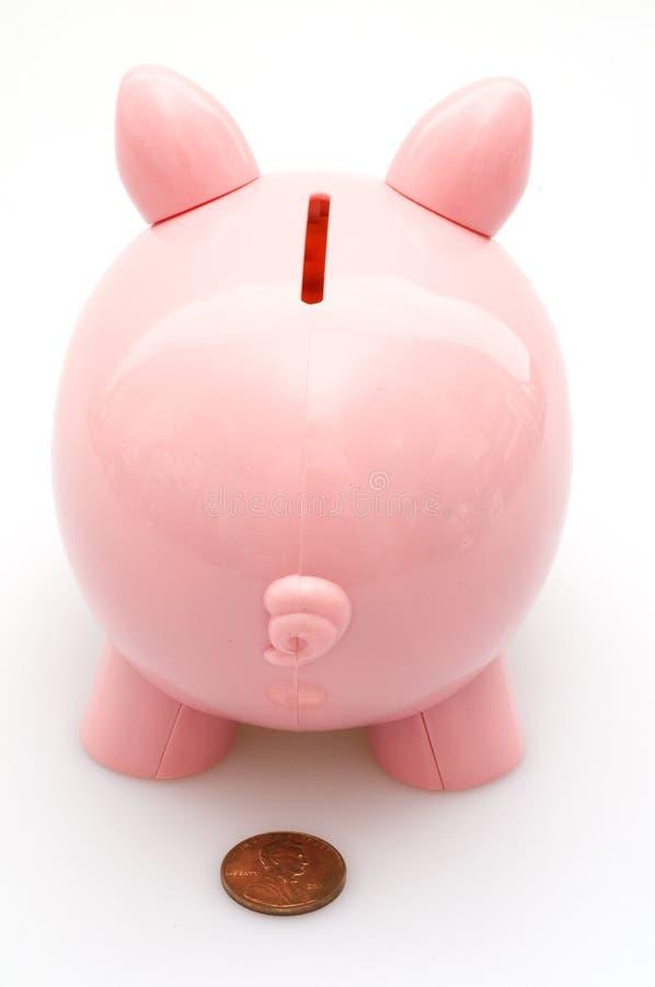 банк задней стороны piggy стоковые фотографии rf