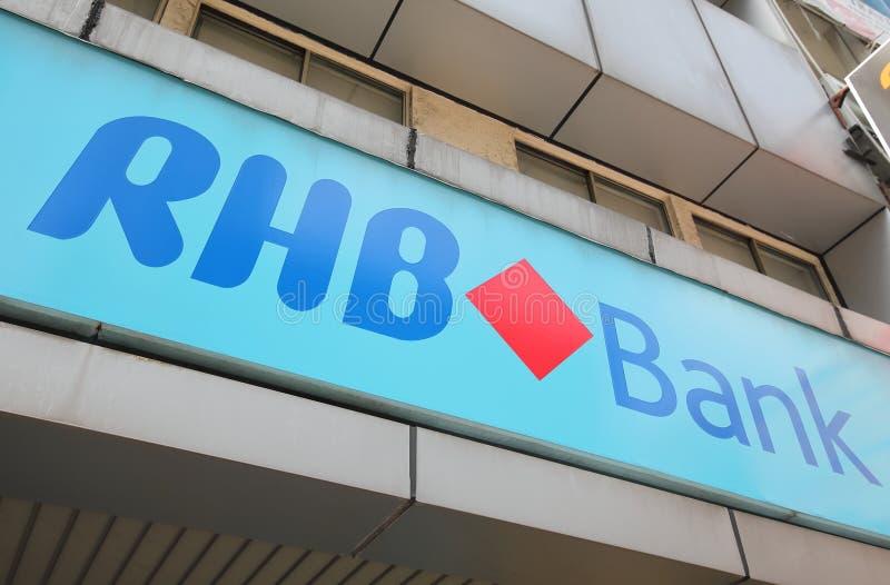 Банк Малайзия RHB стоковые фото