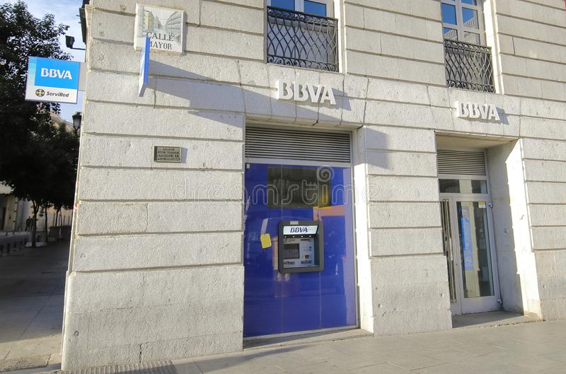 Банк BBVA Banco Bilbao Vizcaya Argentaria стоковое фото rf