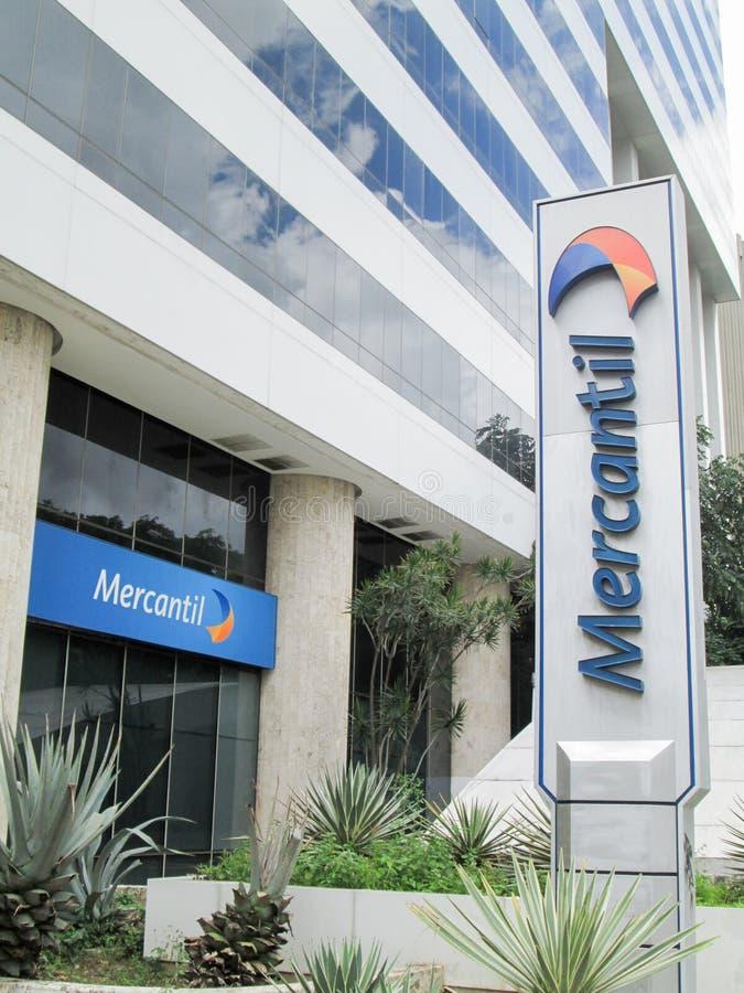 Банк Iconic Venezuela, Banco Mercantil, на Altamira, Chacao, Caracas, Венесуэла стоковое фото rf