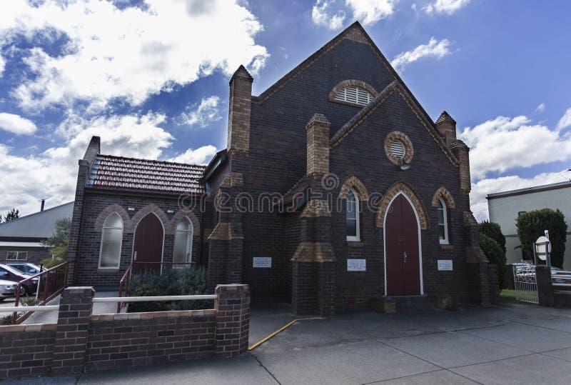 Баптистская церковь района Armidale стоковое изображение rf