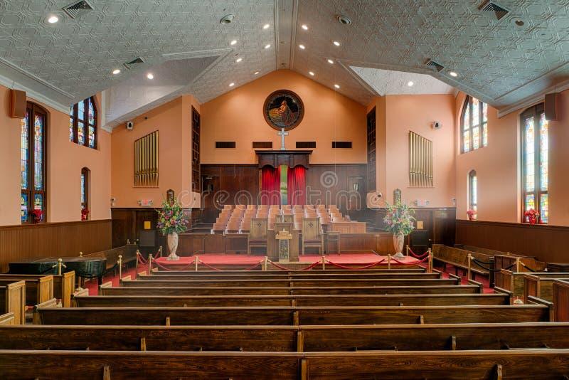 Баптистская церковь Ebenezer стоковые фотографии rf