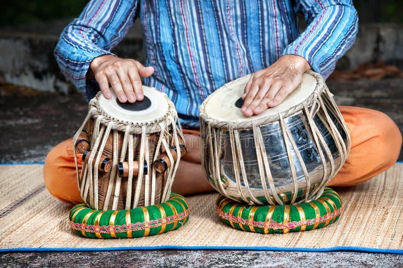 Барабанчики Tabla стоковые изображения
