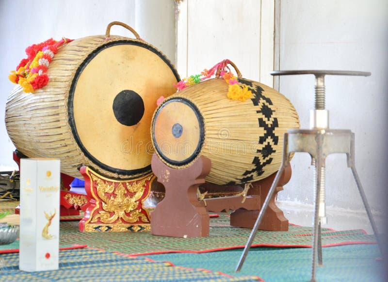барабанчик тайский стоковая фотография rf