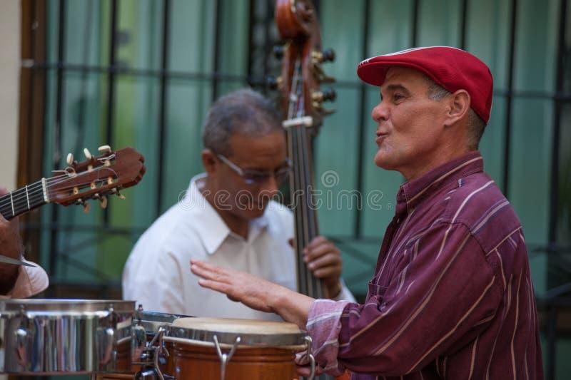 Барабанщик в Гаване Кубе стоковая фотография