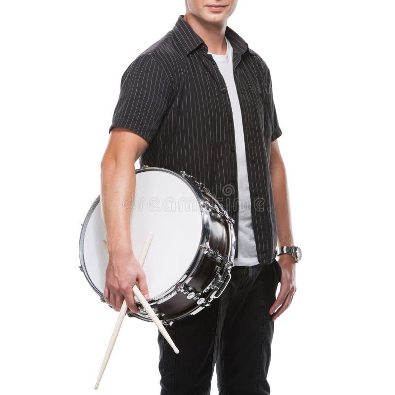Барабанщик. стоковая фотография rf