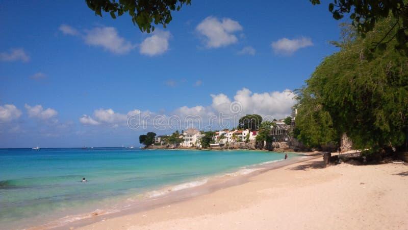 Барбадос, карибская сцена природы стоковая фотография
