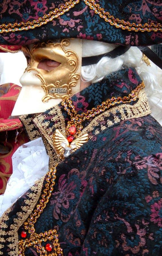 барочная маска venice стоковое изображение