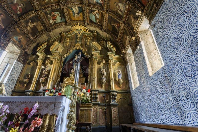 Барочная церковь St Mary стоковое изображение rf