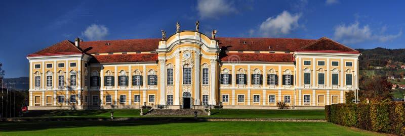 Барочный замок Schielleiten, Штирия, Австрия стоковые фотографии rf
