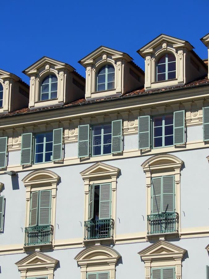 барочный фасад стоковое изображение rf