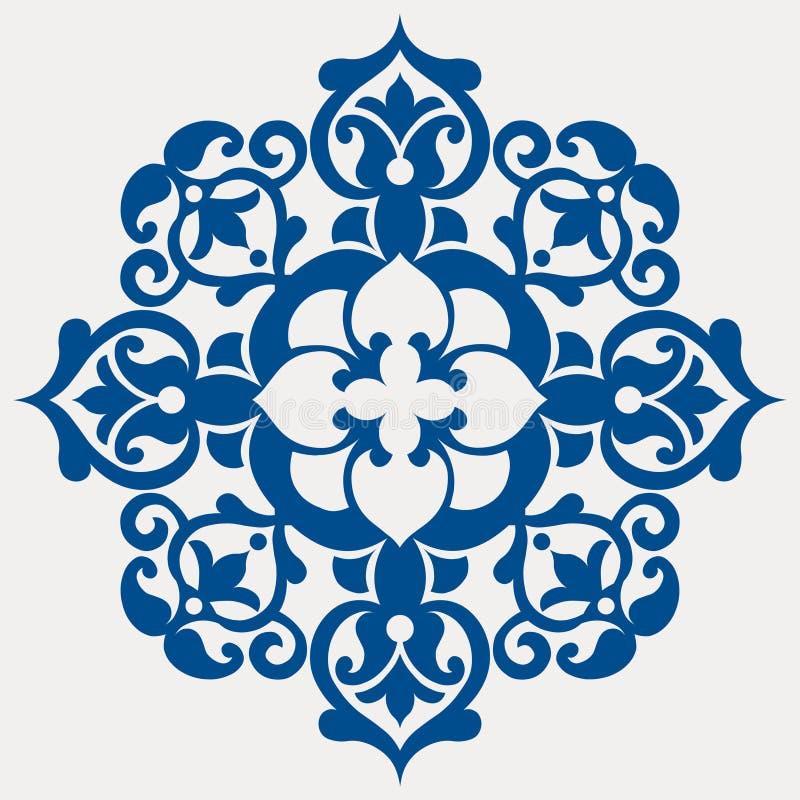 барочный цветок иллюстрация штока