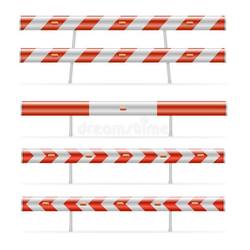 баррикад конструкция иллюстрация вектора