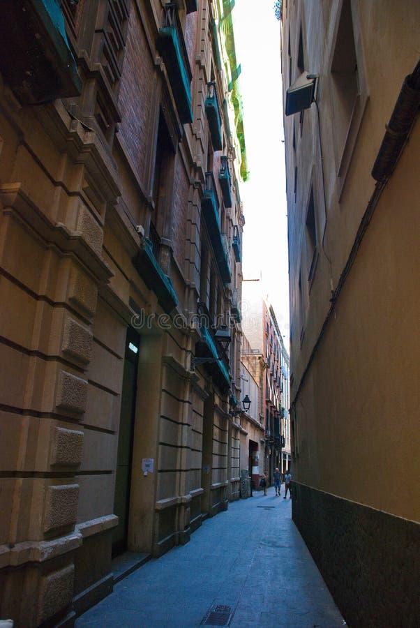 Барселона, Испания - 14 08 2019 год: Прогулка по городу, зданиям и городам Барселоны стоковая фотография