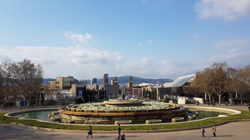 Барселона стоковая фотография rf