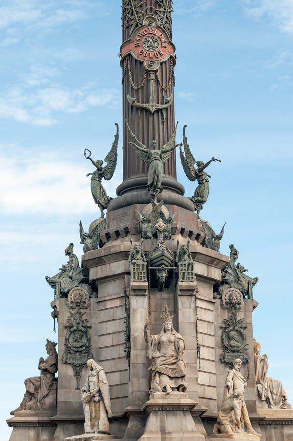 Download Барселона Christopher Columbus Стоковое Изображение - изображение насчитывающей навигатор, известно: 40583237
