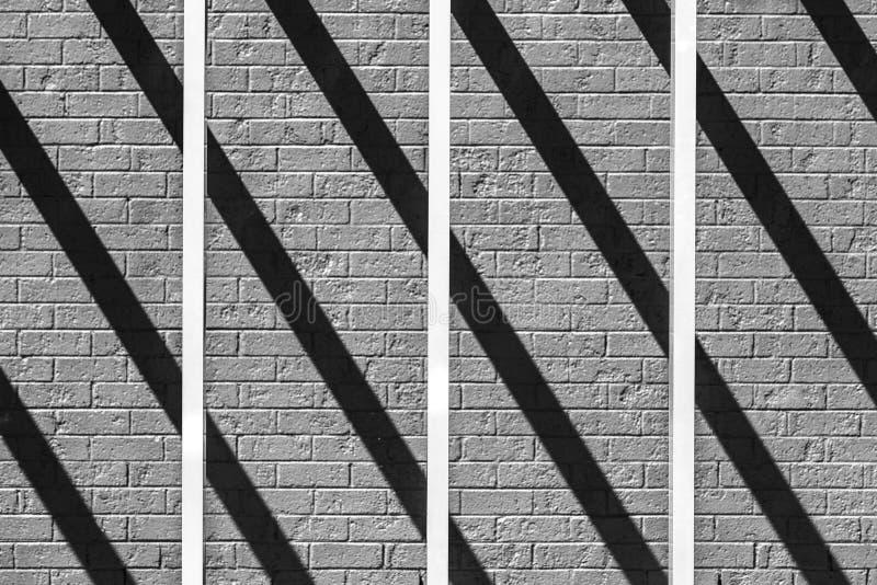 Бары и тени пересекая стоковое изображение