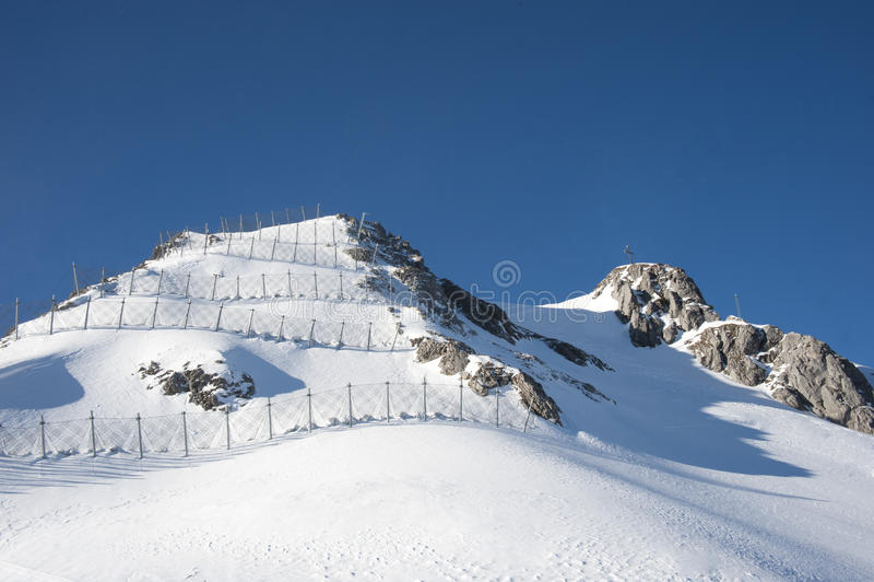 Барьер лавины стоковые изображения rf