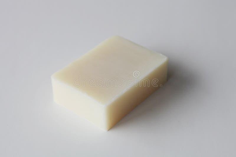 Бар белого handmade мыла стоковые фото