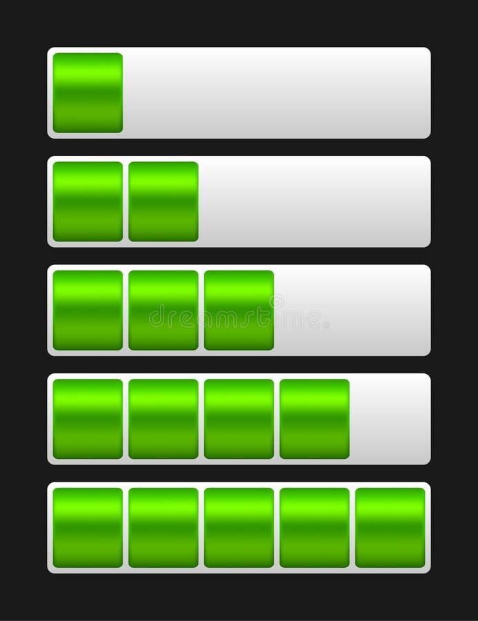 Download Бар загрузки вектора иллюстрация вектора. иллюстрации насчитывающей глянцевато - 41656993