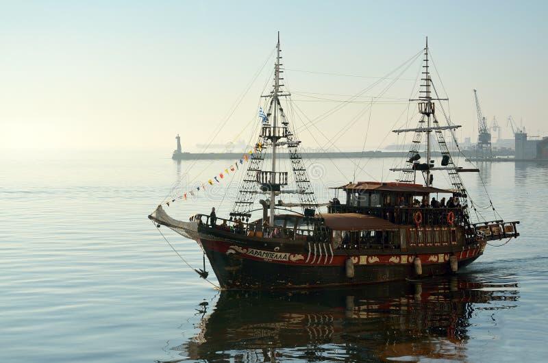 Бар кафа корабля Arabella стоковые фотографии rf
