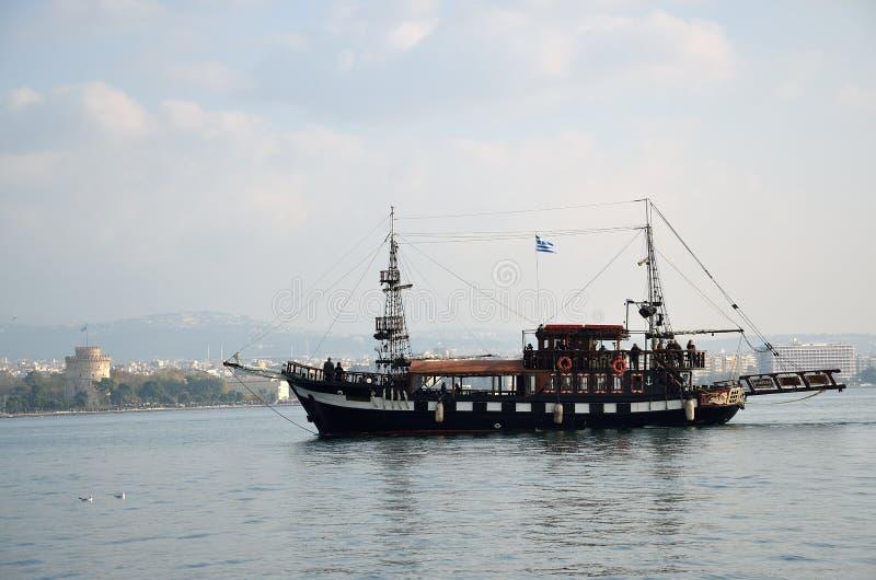 Бар кафа корабля Arabella стоковые изображения rf