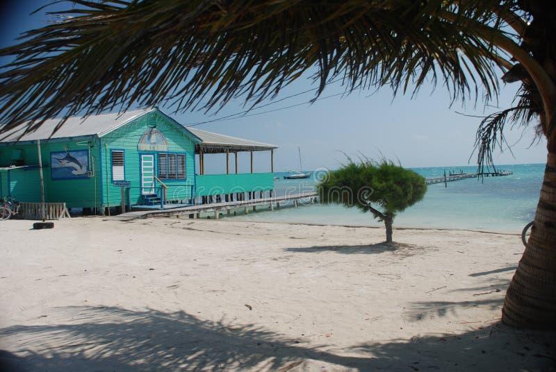Бар пляжа Bleize стоковые изображения rf