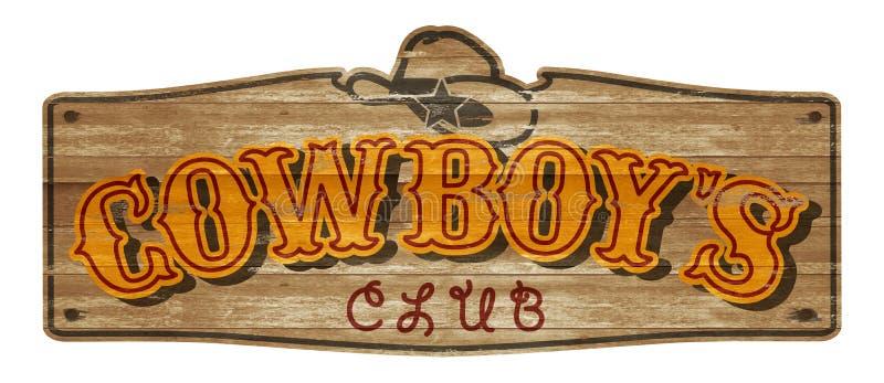 Бар салона клуба деревянной металлической пластинкы ковбоя старый западный стоковое фото