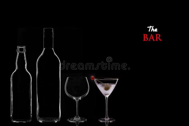 Download Бар стоковое фото. изображение насчитывающей черный, питье - 33726086
